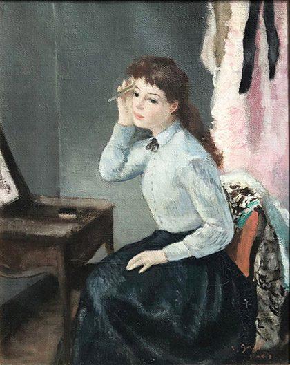 Au Miroir-(sold)