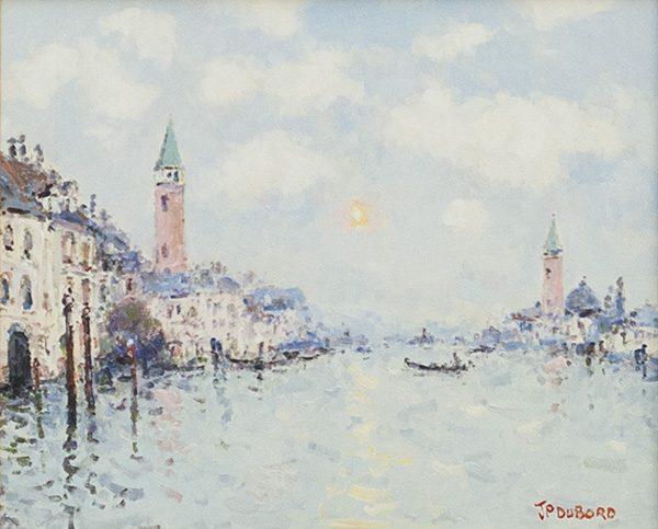 Soleil sur Venise