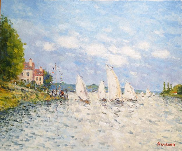 Regate sur la Seine (sold)