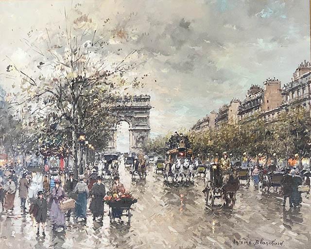 Les Champs Elysee Paris