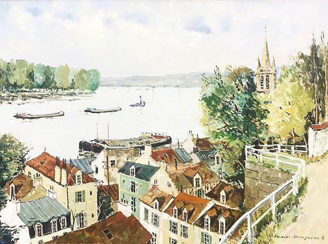 Vue de la Seine de Ste. Honorine