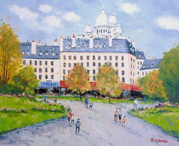 Le Square d'Anvers a Montmartre