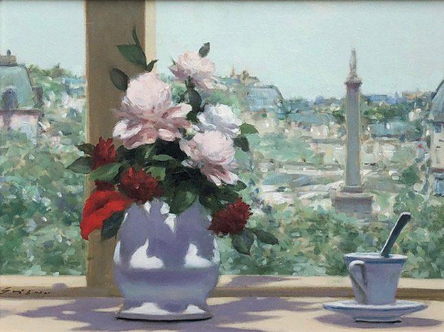 Vase in the Window (sold)