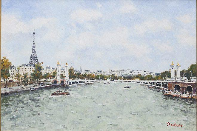 La Seine et la tour Effel