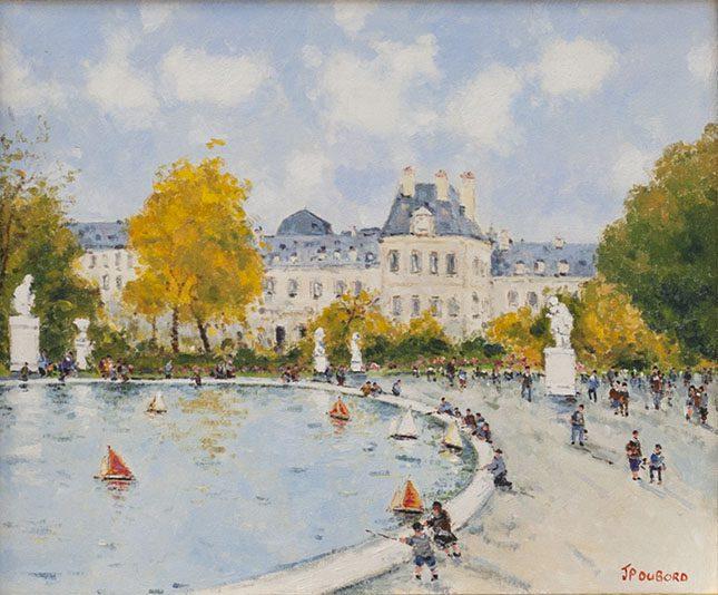 Le Jardin des Truileries et Louvre