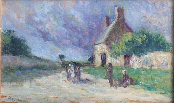 landscape (La Halte)