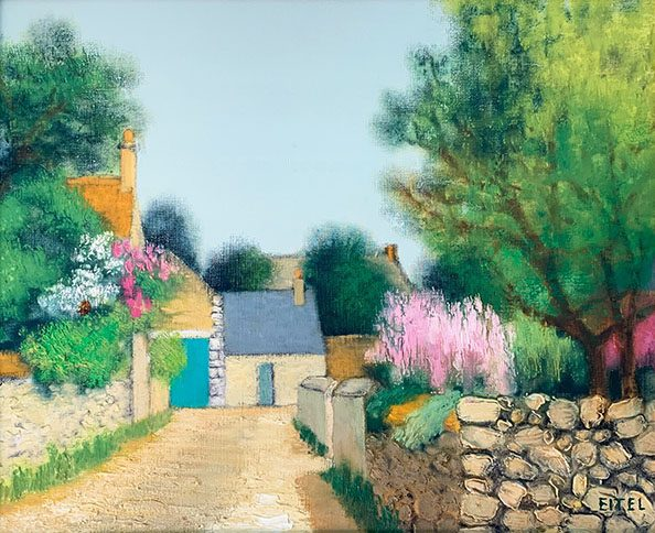 Printemps a Beaugency / sold