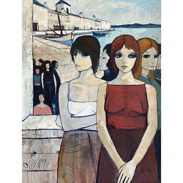 Femmes dans un Port