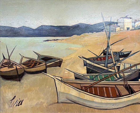 Barques en Corse